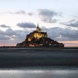 Saint Michel de Le Mont Imagen de archivo libre de regalías