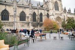 Saint-Michel de Marchè, mercado do ` s do St Michel, Bordéus Imagem de Stock