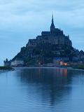 Saint-Michel de Mont Photo stock