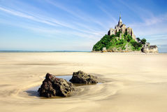 Saint Michel de Mont. Foto de Stock