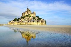 Saint Michel de Mont. Imagen de archivo libre de regalías