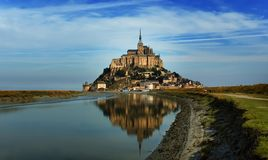 Saint Michel de Mont Foto de Stock Royalty Free