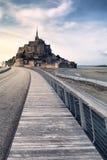 Saint Michel de Mont em Normandy, France Fotografia de Stock