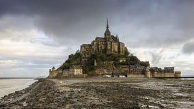 Saint Michel de Mont en Normandie Images libres de droits