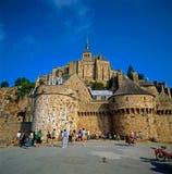 Saint Michel de Mont, Francia Imágenes de archivo libres de regalías