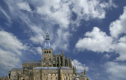 Saint-Michel de Mont, Normandía, Francia Foto de archivo libre de regalías