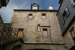 Saint-Michel de Mont, Normandía, Francia Imágenes de archivo libres de regalías