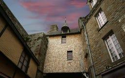 Saint-Michel de Mont, Normandía, Francia Fotografía de archivo libre de regalías