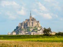 Saint-Michel de Mont, Normandía, Francia Fotos de archivo libres de regalías