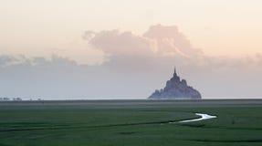 Saint Michel del Le Mont Fotografie Stock Libere da Diritti