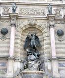 Saint Michel fountain Stock Image