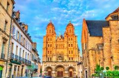 Saint Michel-Kirche in Dijon, Frankreich stockbild