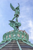 Saint-Michel statue Stock Photography