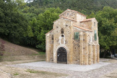 Saint Miguel de Lillo church, Asturies, Spain Royalty Free Stock Images
