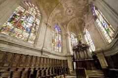 Saint-Mihiel (France) - choeur d'église photo libre de droits