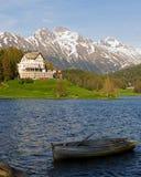 Saint Moritz, Swiss Stock Image