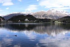 Saint Moritz Switzerland Stock Images