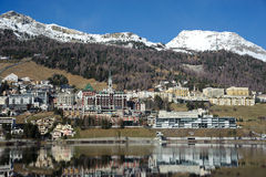 Saint Moritz Royalty Free Stock Image