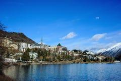 Saint Moritz Stock Image