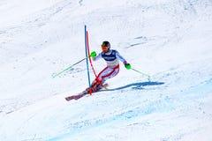 Saint Moritz Ski World Championship 2017 Stock Photo