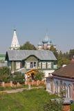 Saint-Mykolaiv et Noël à l'église Images stock