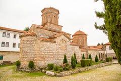 Saint Naum Monastery em Macedônia foto de stock royalty free