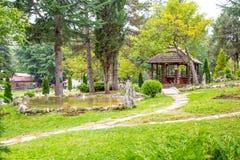 Saint Naum Monastery in Macedonia Stock Images