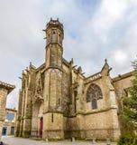 Saint Nazaire basilica in Carcassonne Stock Photos