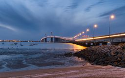 Saint Nazaire Bridge Photo libre de droits