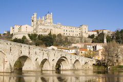 Beziers, France. Saint Nazaire cathedral of Beziers, France Royalty Free Stock Image