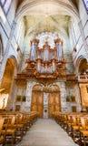 Saint Nazaire da catedral na cidade de Beziers imagens de stock royalty free