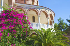 Saint Nectarios monastery Aegina Greece Royalty Free Stock Photography