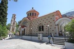 Saint Nectarius church near Archipolis, Rhodes, Greece Stock Image