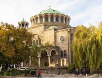 Saint Nedelya church in Sofia Stock Photo