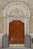 Saint nicholas basilica door Stock Photo