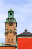Saint Nicholas Bell Tower, Stockholm, Sweden Royalty Free Stock Image