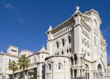 Saint Nicholas Cathedral. In Monaco Stock Photo
