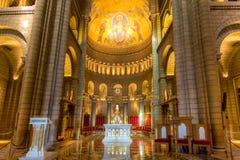 Saint Nicholas Cathedral Interior de Mônaco Fotos de Stock Royalty Free
