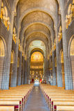 Saint Nicholas Cathedral Interior de Mônaco Foto de Stock Royalty Free