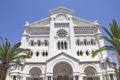 Saint Nicholas Cathedral in Monaco Royalty Free Stock Photography