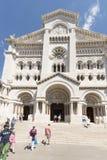 Saint Nicholas Cathedral, Monaco Stock Photo