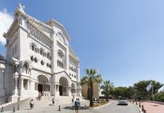 Saint Nicholas Cathedral, Monaco Stock Image