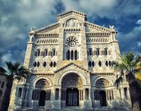 Saint Nicholas Cathedral  Monaco Royalty Free Stock Images