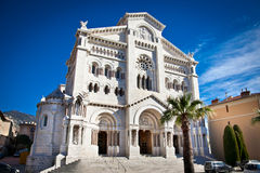 Saint Nicholas Cathedral in Monte Carlo, Monaco. Stock Photography