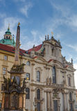 Saint Nicholas Cathedral, Prague, Czech Republic Royalty Free Stock Images