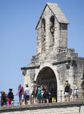 Saint Nicholas Chapel, Pont Saint-Bénézet, Avignon, France Stock Photos