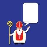Saint Nicholas Character Set royalty free stock image