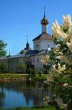 Saint Nicholas Church. In the Tolga manastery near the city of Yaroslavl' in the spring Royalty Free Stock Photos