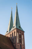 Saint Nicholas Church in Berlin Stock Image