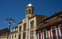 Saint Nicholas church in Brasov Stock Image